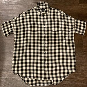 Madewell Courier Shirt in Buffalo Check *size XXS*